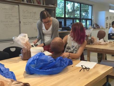Alum joins Art Department teaching staff