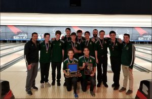 Not Bowled Over By Success, Boys Bowling Team Reaches IHSA State Final Tournament