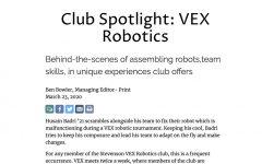 Club Spotlight: VEX Robotics