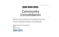 Navigation to Story: Community Consolidation
