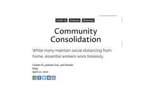 Community Consolidation