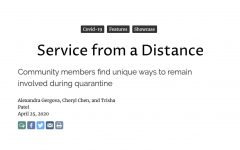 Navigation to Story: Service from a Distance