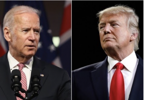 Democratic candidate and former Vice President Joe Biden and current President Donald Trump (licensed under Creative Commons) Courtesy of Kaos en la Red