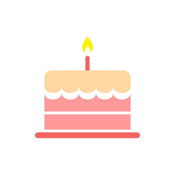 birthday cake, food icon